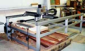 (1) 5 x 10 ft CNC Router Table