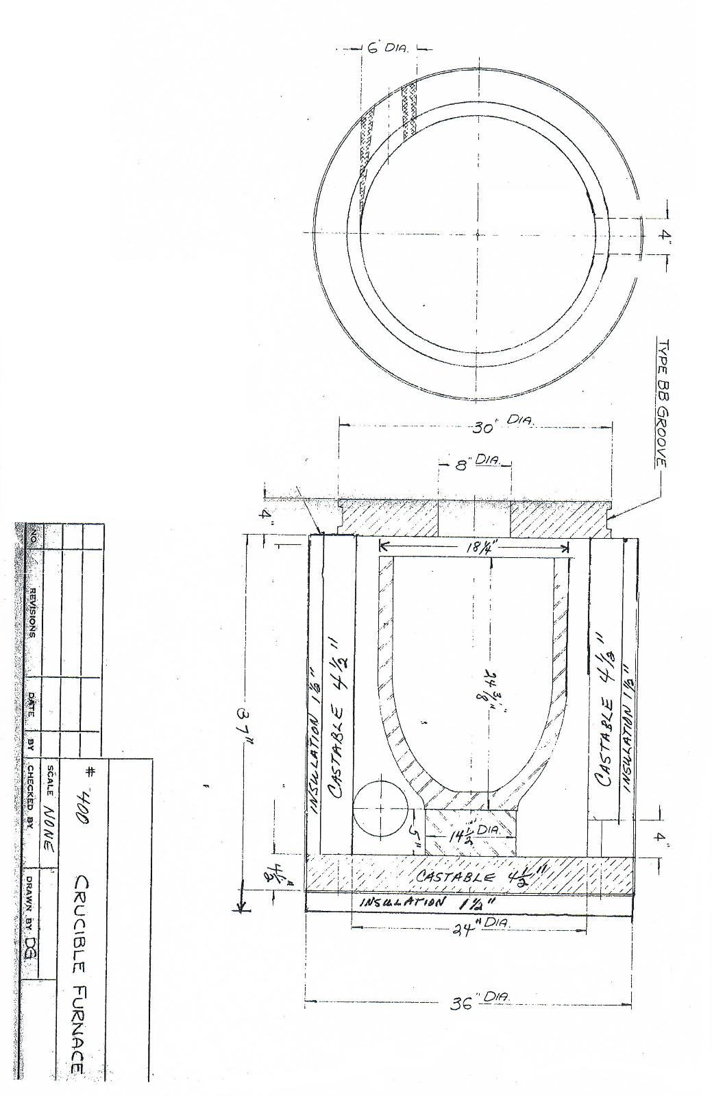 Kitchen Cabinet Blueprints Casting Furnaces
